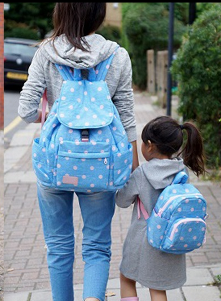 Matching Mommy and Me Backpacks by Haruhonpo